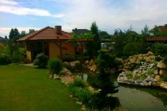 Zahradní domeček v Chudeřicích
