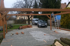 Garážové stání pro dvě vozidla Nový Bydžov