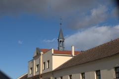 Další z našich prací na Ostrově v Chlumci nad Cidlinou, včetně věžičky