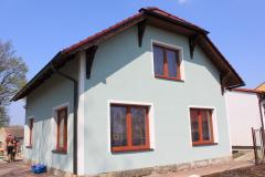 Autobazar Nový Bydžov kompletní dodávka střechy se zdobenými přesahy7