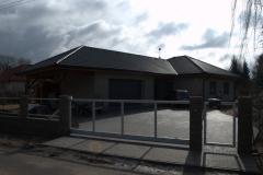 Montáž vazníkové střechy Kapser Nový Bydžov