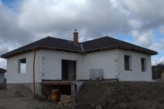 Montáž vazníkové střechy Kasper Chlumec nad Cidlinou