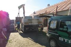 Dodávka nového střešního pláště  Býšť