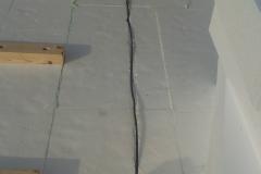 Rovná střecha s zaizolovaným nadstřešním pláštěm v Jičíně