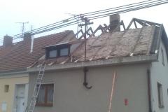 Rekonstrukce st°echy Novř Byd×ov05