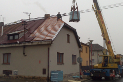 Rekonstrukce st°echy Novř Byd×ov09