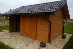 Zahradní chatka na sekačku a zahradní nářadí